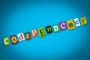 Codependency - Word On Blue Background From Colorful Letters. Get support for women miramar, fl from broward conselor who does online therapy for women in florida needing codependency treatment and codependency therapy.